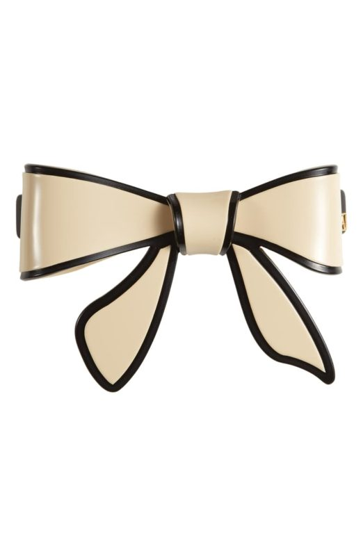 Trendy Hair Clips and Barrettes featured by top US high end fashion blog, A Few Goody Gumdrops: image of an Alexandre de Paris barette