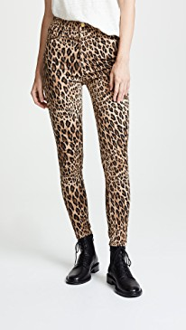 Fall trends featured by top US high end fashion blog, A Few Goody Gumdrops: image of Miu Miu leopard leggings