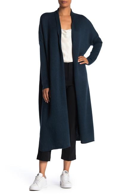 Cute long fall cardigans featured by top US luxury fashion blog, A Few Goody Gumdrops: image of Brochu Walker long cardigan