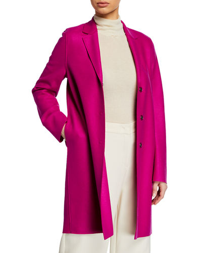 Cocoon winter coat shopping guide featured by top US high end fashion blog, A Few Goody Gumdrops: image of Harris Wharf cocoon winter coat
