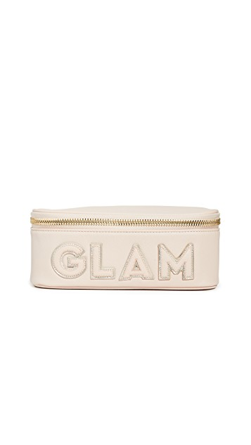 Unique gifts for fashion lovers features by top US high end fashion blog, A Few Goody Gumdrops: image of a Stoney Clover Lane makeup pouch.