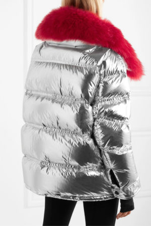 Designer ski jackets featured by top US high end fashion blog, A Few Goody Gumdrops: Moncler Grenoble puffer jacket