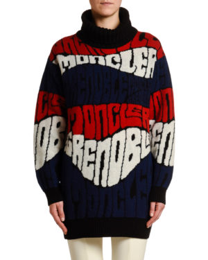Designer ski jackets featured by top US high end fashion blog, A Few Goody Gumdrops: Moncler Grenoble Plaret