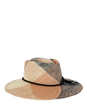 Women's Fedora hats roundup featured by top US high end fashion blog, A Few Goody Gumdrops: image of Gigi Burris plaid fedora hat