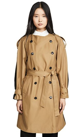 Designer Trench Coats for Spring roundup, featured by top US high end fashion blog, A Few Goody Gumdrops: FRAME trench coat